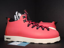 NATIVE FITZSIMMONS CASUAL BOOTS TOTEM RED BLACK CREAM WHITE GLM06-TR NEW 13
