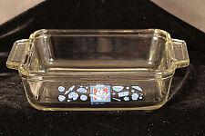 "Pillsbury Doughboy Square Glass Baking Dish Anchor Ovenware 8x8x2.25"" 2 Qt. 1994"