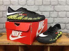 NIKE BOYS CHILDRENS UK 5 EU 38 DARK LIGHTING HYPERVENOM TURF FOOTBALL BOOTS