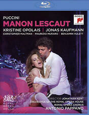 NEW - Puccini: Manon Lescaut [Blu-ray] by Jonas Kaufmann