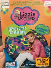 Lizzie McGuire - Lizzie and Kate's Big Adventure ex-rental region 4 DVD (kids)