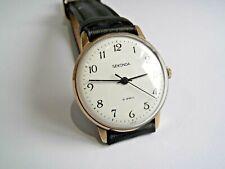 Sekonda 19 Jewel Gold Plated Mechanical Working Gents Watch