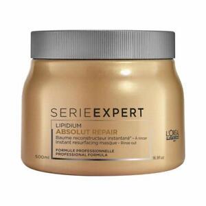 LOREAL Serie Expert Absolute Repair Lipidium instant resurfacing Masque, 500 ml