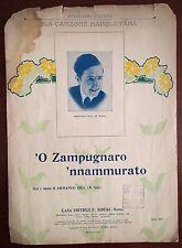 Spartito Musicale Zampugnaro 'Nnammurato-Armando Gill Ed. Bideki Piano Canto