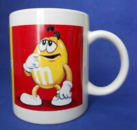 M & M's Red Yellow Green Blue Characters Coffee Mug Cup