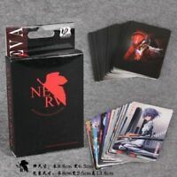 Anime Evangelion EVA Asuka Langley Rei Playing Cards Poker Cosplay Props