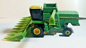 Vtg Ertl 1/64 John Deere 6620 Turbo Combine With 8 Row Corn Head (Tractor)