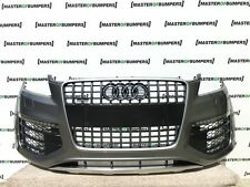 AUDI Q7 W12 V12 2008-2015 S LINE FRONT BUMPER FULLY COMPLETE [A196]
