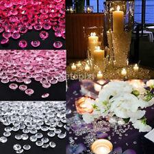 1000PCS 4.5mm DIY Wedding Party Festive Decorations Transparent Acrylic Crystals