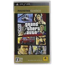 Used PSP Grand Theft Auto Libert City Stories GTA SONY PLAYSTATION JAPAN IMPORT