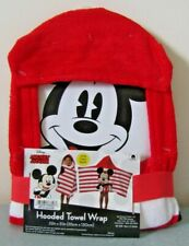 Disney Mickey Mouse Cotton HOODED BATH TOWEL