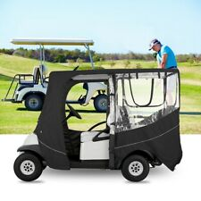 Golf Cart Enclosure 2 Passenger Rain Cover Driving Accessories Waterproof