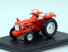 Renault Super 6D 1966 orange Traktor 1:43 UH Universal Hobbies Modellauto