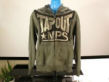 Tapout MPS Black Army Green Full Zipper Hoodie Jacket XXXL 3XL