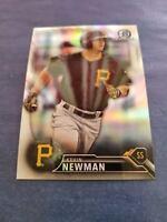 KEVIN NEWMAN 2016  BOWMAN CHROME DRAFT CARD #BDC-198  PIRATES (ROOKIE REFRACTOR)