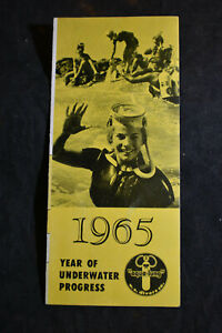 1965 Year of Underwater Progress - US DIvers Catalog SCUBA