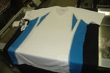 Fox Women's M Gala s/s Mountain Bike Jersey White w/blue New 1st Quality Sample