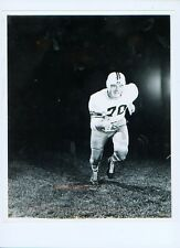 """1950's Colgate football player 8"""" x 10"""" team issued press photo - Luc Mascellino"""