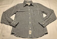 Abercrombie & Fitch Muscle Long Sleeve Button Down Plaid Shirt Men's Size Small