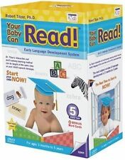 Brand New Sealed Your Baby Can Read / Early Learning 5 DVD Set + CARDs. RRP £80