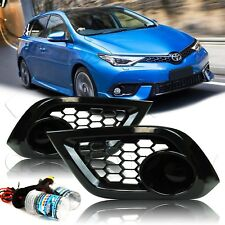 For 16 17 18 Scion Toyota IM Fog Lights w/Wiring Kit & HID Kit - Super Smoke