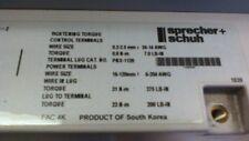 Sprecher + Schuh PCS-201-600V 350HP 200-600VAC 3Ø Soft Start VFD *Guaranteed*