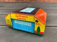Glamorgan Toy Products Automatic Garage Tinplate - Excellent Vintage Original