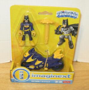 Fisher Price Imaginext DC Super Friends Batgirl & Cycle BRAND NEW NIP VHTF