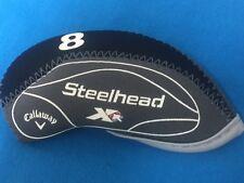 CALLAWAY STEELHEAD XR NEOPRENE GOLF IRON HEAD COVERS 10pc SET 4-LW *USA SELLER*