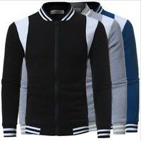 Fashion Men's Slim Fit Sweatshirt Hoodie Hooded Sweater Coat Jacket Outwear