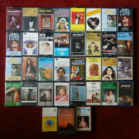 35 ORIGINAL COUTRY & WESTERN CASSETTE TAPE COLLECTION