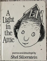 A LIGHT IN THE ATTIC BY SHEL SILVERSTEIN HARDCOVER 1981 VG