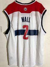 Adidas NBA Jersey Washington Wizards John Wall White sz 3X