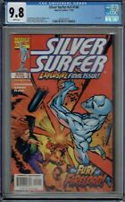 CGC 9.8 SILVER SURFER V3 #146 WHITE PAGES LAST ISSUE