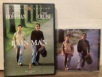 Rain Man 1988 film (DVD &  Soundtrack CD) Dustin Hoffman Tom Cruise