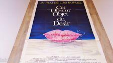 luis bunuel CET OBSUR OBJET DU DESIR ! affiche cinema vintage 1977