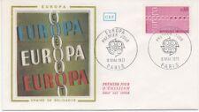FRANCE 1971.F.D.C.  SOIE  EUROPA. C.E.P.T. OBLI:LE 8/5/71 PARIS