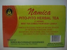 NAMICA PITO-PITO (7-7) ALL NATURAL HERBAL TEA, 30 tea bags