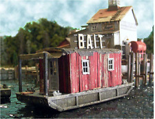 BAR MILLS HO SCALE 1/87 BAIT BARGE AT CUNDY HARBOR BUILDING KIT | BN | 762
