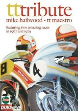 TT TRIBUTE DVD MIKE HAILWOOD, GIACOMO AGOSTINI 1967. 1979 TT. 69 Min. DUKE 1186N