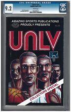 UNLV #NN CGC 9.2/9.0 SET Amazing Sports (1991) white pages