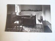 Vintage Retro Real Photo Postcard INSIDE SANCTUARY SPEEN, BUCKINGHAMSHIRE