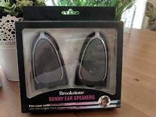 Brookstone Bear Ear Speakers - BRAND NEW - FREE SHIPPING - READ LISTING