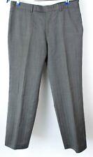 Hugo Boss Uomo Eleganti Classiche Pantaloni di Lana Misura W34 L30 MZ488