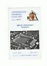 Chesterfield v Peterborough Programme 7th Mar 1970