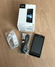 Sony  Xperia J ST26i - Schwarz (Ohne Simlock) Smartphone