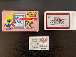 Nintendo Game and Watch: Safebuster  Vertical Multi Screen Series JB-63