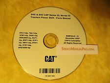 SEBP2242 CAT Caterpillar D4C & D4C LGP Series 3 III Tractor Parts Manual Book CD