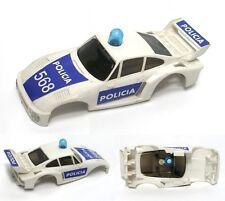 1980 Ideal Tcr Porsche Police Policia Slot Car Body