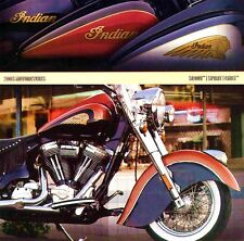 2003 INDIAN MOTORCYCLE BROCHURE -SCOUT-SPIRIT-CHIEF ROADMASTER-CHIEF SPRINGFIELD